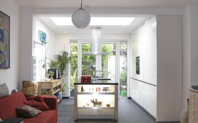 Uitbouw licht en ruimte - Huis interieur architectuur ...